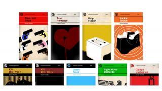 クエンティン・タランティーノの映画をペーパーバックの表紙デザインにしてみた