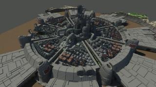『マインクラフト』で作った、もっとスゴい『ファイナルファンタジーVII』のミッドガル