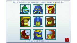 『ロックマン2』のボスキャラたちをLEGO風CGアートで再現