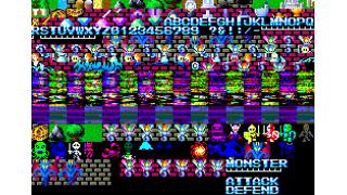 MSX2版 ハイドライド1 フォント置き換えパッチ