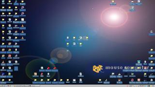 デスクトップのアイコンの配置を元に戻す方法