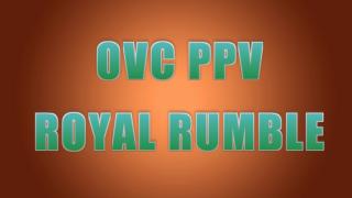 【302・ファイプロ】1/27放送 PPV枠『ROYAL RUMBLE』全カード