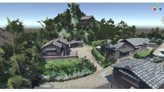 進捗:古や村に木をうえなおす