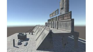 ガレキ町進捗:大きな廃墟ビルを作るには
