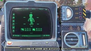 Fallout76にみるキャラ強化