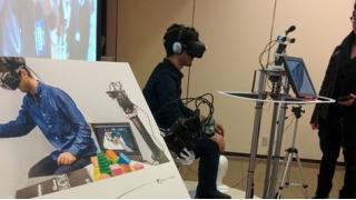 KMD Forumで体験したオキュラスリフトを使った遠隔ロボットによるVR体験が凄かった話