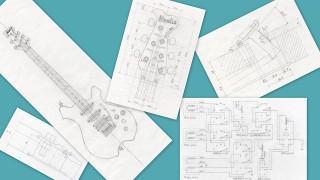1.実施設計 (6)エレクトリックパーツの位置とコントロールキャビティの深さ