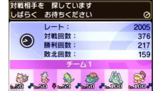 【S12:最高2005最終1911】ヤドヤド2000達成~ピンクの置物と桃色のマスコット~