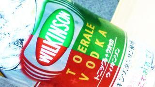 【酒】第12回 お酒初心者による『ウィルキンソン トニック&ジンジャエール+ウオツカ』の感想【缶チューハイ】
