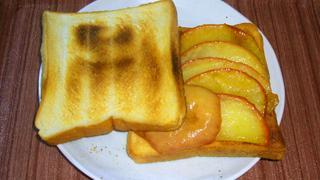 【レシピ】MUSKA流焼きりんごのトースト