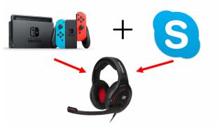Nintendo Switchのゲーム音とSkype・ボイチャ音声をヘッドセットに同時出力する方法お教えします。