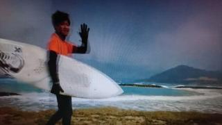 1018年 サーフィン初心者 ☆ このごろのスランプの原因判明~♪(222回目)