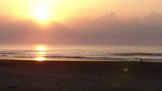 サーフィン初心者 1年10か月目 日本海は波なシ~ズン突入~↓↓ (286回目)
