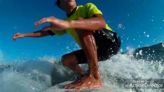 2018・8・19  サーフィン初心者 49才からサーフィンをやりはじめ2年で出来るようになったこと☆ (308回目)