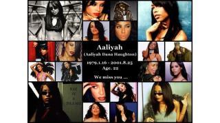 ◆ 8/25命日 Aaliyah