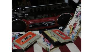 80年代テイストラジオカセット SCR-B2