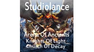 近日発売 「Arena Of Ancients」ダークファンタジー系著作権フリーBGMセット