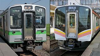 E129系とE127系は新潟エリアの名列車です、ET127系は後ほど