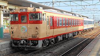 国鉄急行色や新潟色だけでない!十人十色な新津のキハ40系