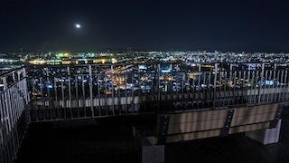 夜景撮影☆(福岡県北九州市 高塔山)