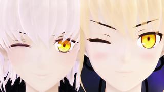 新作アップ!【Fate/MMD】新宿オルタ組で「リバーシブル・キャンペーン」