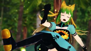 新作アップ!【Fate/MMD】アタランテが楽しく「シュガーソングとビターステップ」
