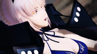 新作アップ!【Fate/MMD】アルトリア・ペンドラゴン (オルタ)で「シャルル」