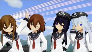 【艦これ】艦娘の皆で任務「全提督を撃滅せよ!」をやってみた!?【MMD】アップ!