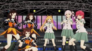 【艦これ】艦隊のアイドル那珂ちゃん達で「マジLOVE1000%」【MMD】アップ!