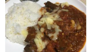 豚ハツのスパイスカレー【管理栄養士の朝食】