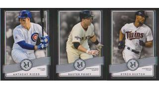 MLB Topps Museum Collection 2016 1Box 開封