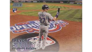 MLB Topps StadiumClub 2016 1Box 開封