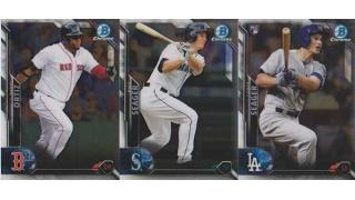 MLB Bowman Chrome 2016 VendingBox 1Box 開封