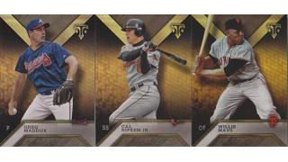 MLB Topps Triple Threads 2016 1Box 開封