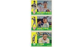 MLB Topps Archives 2017 1Box 開封