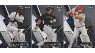 MLB Topps Finest 2018 1box 開封