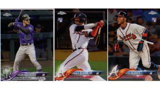 MLB Topps Chrome 2018 1Box 開封