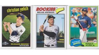 MLB Topps Archives 2018 1Box 開封