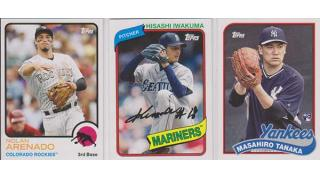 MLB Topps Archives 2014 1Box 開封