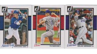 MLB PANINI Donruss 2014 Series 2 1Box 開封