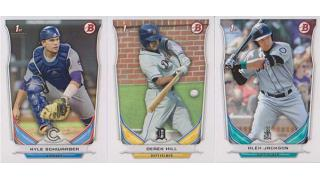 MLB Bowman Draft Jumbo 2014 1Box 開封