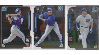 MLB Topps Bowman Chrome 2015 1Box 開封
