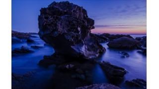 ただの岩も面白くなるのが写真のいいところ。