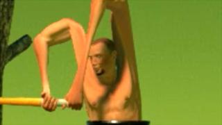 バグ技で壺オッサンの肩を伸ばす結月ゆかり ーGetting Over Itー