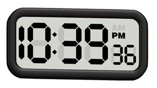 # 0609_デジタル時計形になる