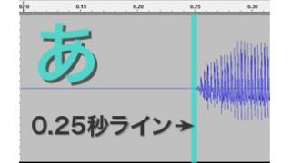 # 0303_ボーカロイドエディターの音符の位置と、無声子音・有声子音・母音の発声タイミング