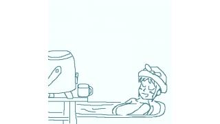 入浴中の水分補給に