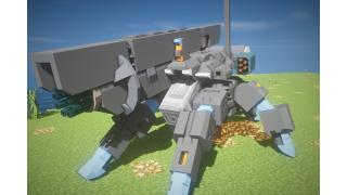 【JointBlock】多脚戦車の足機構【Minecraft】
