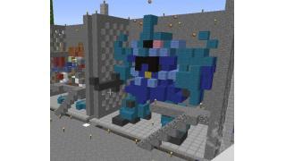 【Minecrft】MS基地を作ってみた。