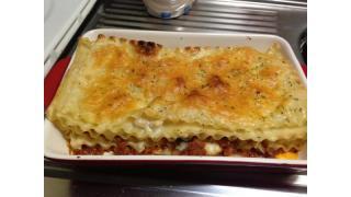 【イタリア料理】ラザニアを作った